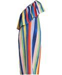 Mara Hoffman「MARA HOFFMAN Rainbow Watercolour Stripe-print linen dress(One piece dress)」