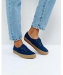 Vans「Vans Authentic Sneakers In Navy(Sneakers)」