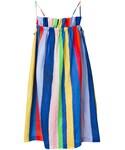 Mara Hoffman「Mara Hoffman - ストライプ柄 ドレス - women - リネン - S(One piece dress)」