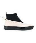Marni「Marni - カラーブロック ブーツ - women - レザー/シープスキン/ネオプレン/rubber - 39(Boots)」