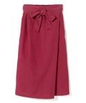 GRL | ウエストリボンラップタイトスカート(スカート)