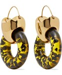 Ellery | Ellery - Hush Gold-plated Resin Earrings(Earring(both ears))