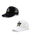 StarLean | スターリアン【公式】 5パーツ刺繍メッシュキャップ(GREEN) (キャップ)