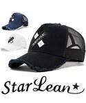 StarLean | スターリアン【公式】 SENSEクロス刺繍メッシュキャップ(キャップ)