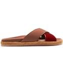 Jimmy Choo「JIMMY CHOO Nox velvet espadrille slides(Other Shoes)」