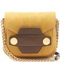 Stella McCartney「STELLA MCCARTNEY Stella Popper faux-suede cross-body bag(Handbag)」