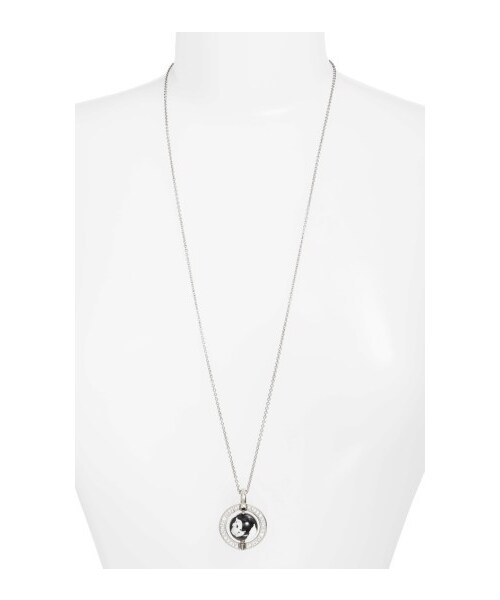 Alexander wangwomens alexander wang long womens alexander wang long globe pendant necklace mozeypictures
