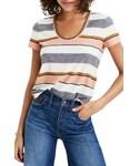 Madewell「Women's Madewell Stripe Alto Scoop Tee(T Shirts)」