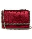 Stella McCartney「STELLA MCCARTNEY Falabella mini velvet cross-body bag(Handbag)」