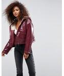 Asos「ASOS Vinyl Rain Jacket with Fleece Lining(Other outerwear)」