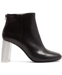Acne Studios「ACNE STUDIOS Claudine contrast-heel leather ankle boots(Boots)」
