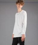 LIDnM | モダールレイヤードロンT(Tシャツ・カットソー)