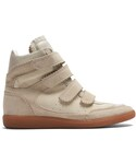 Isabel Marant「ISABEL MARANT Bilsy concealed-wedge suede trainers(Sneakers)」