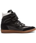 Isabel Marant「ISABEL MARANT Bilsy concealed-wedge leather trainers(Sneakers)」