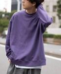 LIDnM | オフショルダースウェット(運動衫)