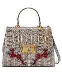 Gucci「Gucci Iside Genuine Snakeskin Top Handle Satchel - Brown(Shoulderbag)」