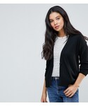 Asos「ASOS TALL Cardigan In Fine Knit With One Button(Cardigan)」