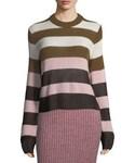 Rag & Bone(ラグアンドボーン)の「Rag & Bone Annika Wide-Stripe Ombré Crewneck Sweater(ニット・セーター)」