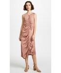 Raquel Allegra「Raquel Allegra Gathered Midi Dress(One piece dress)」