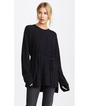 Elizabeth and James「Elizabeth and James Slouchy Crew Neck Rib Sweater(Knitwear)」