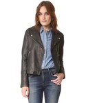 "Madewell Riders jacket ""Madewell Washed Leather Motorcycle Jacket"""