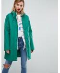 Asos「ASOS Premium Borg Raincoat(Other outerwear)」