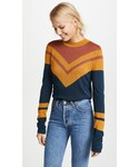 Free People「Free People Show Off Your Stripes Crew Sweater(Knitwear)」
