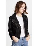 "Madewell Riders jacket ""Madewell Cropped Leather Jacket"""