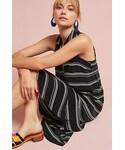 Anthropologie「Anthropologie Striped Collared Shirt Dress(One piece dress)」