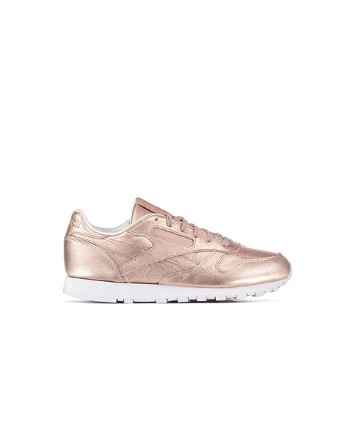 229fe06a53307 Reebok(リーボック)の「Baskets Reebok Cl Leather Melted Metal Rose ...