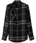 Banana Republic「Dillon-Fit Plaid Ruffle Flannel Shirt(Shirts)」