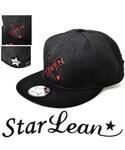 StarLean | スターリアン【公式】OTTO製 オットー  ベースボールキャップ メンズ レディース 白黒 BBキャップ 秋 冬 SEVENクロス刺繍ベースボールキャップ(キャップ)