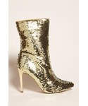 Forever 21「FOREVER 21 Sequin Pointed Boots(Boots)」