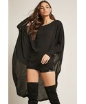Forever 21「FOREVER 21 High-Low Batwing Sleeve Tunic(Other tops)」