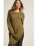 Forever 21「FOREVER 21 Cable Knit Tunic Top(Other tops)」