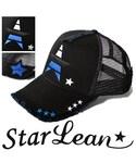 StarLean | スターリアン【公式】cap 帽子 おしゃれ ロゴキャップ メンズ レディース ストリート 大人カジュアル 黒 秋 冬 MADE IN WORLDコラボメッシュキャップ(キャップ)