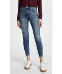 Amo「AMO High Rise Twist Jeans with Fray(Denim pants)」