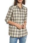 Madewell「Women's Madewell Ex-Boyfriend Buffalo Check Button Back Shirt(Shirts)」