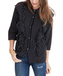 Madewell「Women's Madewell Ruffle Silk Top(Shirts)」