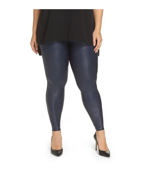 1f89940a7a539 Spanx,Plus Size Women's Spanx Faux Leather Leggings - WEAR