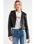 Blank NYC「BLANKNYC Leather Banded Moto Jacket(Riders jacket)」