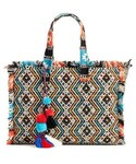 Steve Madden「Steve Madden Resort Embroidered Tote - Blue(Tote)」