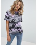 Missguided「Missguided Barbie Camo T-Shirt(T Shirts)」