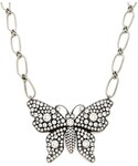 Gucci「GUCCI Butterfly crystal-embellished necklace(Necklace)」