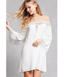 FOREVER 21「FOREVER 21 Off-the-Shoulder Tunic Dress(One piece dress)」