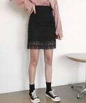 DHOLIC(ディーホリック)の「レースタイトスカート(スカート)」