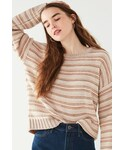 Urban Outfitters「Urban Outfitters UO Hallie Striped Crew-Neck Sweater(Knitwear)」