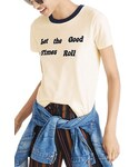 Madewell「Madewell Let the Good Times Roll Ringer Tee(T Shirts)」