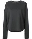 The Reracs(ザ・リラクス)の「The Reracs - クルーネックスウェットシャツ - women - コットン - 36(ニット・セーター)」