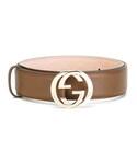Gucci「Gucci - GG バックルベルト - women - カーフレザー - 95(Belt)」